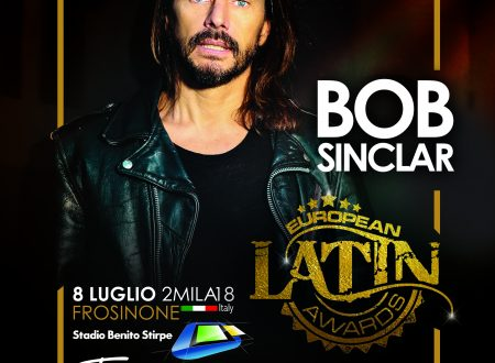 BOB SINCLAR CONFERMATO AGLI EUROPEAN LATIN AWARDS A FROSINONE